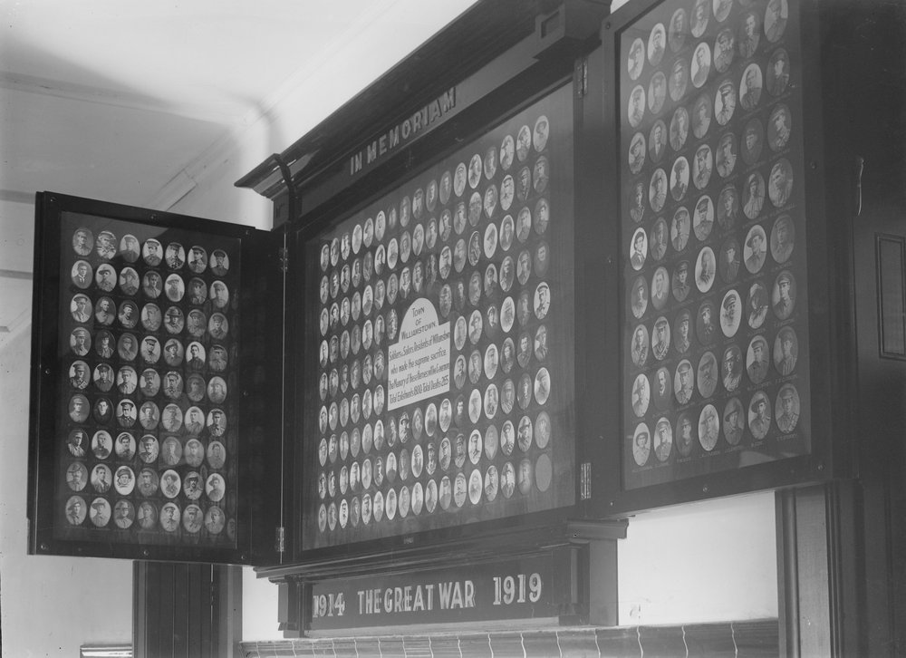 Honour board 1924